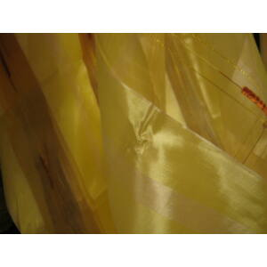 sárga keresztcsíkos függöny 300x250cm