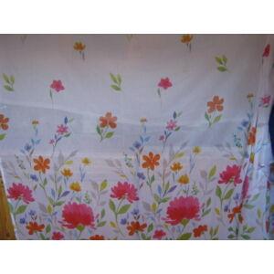 függöny színes virág mintával 300x260cm