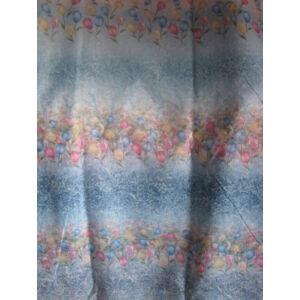 Függöny színes mintával 300x250cm