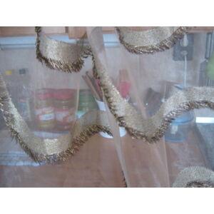 függöny barna- arany mintával 300cmx300cm