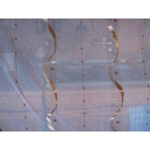 függöny arany mintával 300cmx220cm