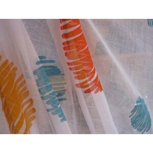 függöny színes pöttyös mintával  300cmx270cm