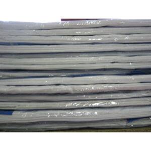 Lepedő fehér színben 100% pamut 230cm x 240cm