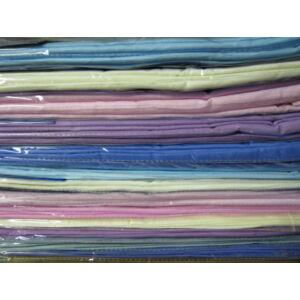 Lepedő kék színben 100%pamut 240cm x 220cm
