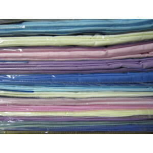 Lepedő sötétszürke színben 100%pamut 240cm x 220cm
