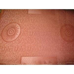 Sötétítő+drapéria+kikötő+bojt barack-narancs színben 300cmx230cm