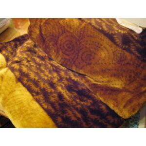 Vastag takaró/ pléd kagyló mintával 240cm x 200cm