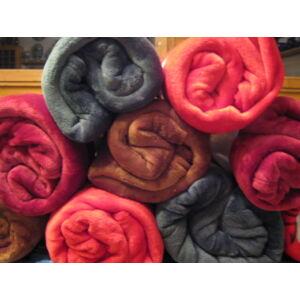 Wellsoft takaró/pléd bordó színben 150cm x 200cm