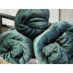 Wellsoft  takaró/pléd zöld színben 150cm x 200cm