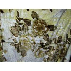 Vastag  virág mintájú takaró/pléd 240cm x 200cm