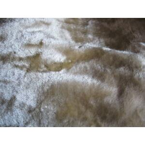 Vastag takaró/pléd bézs színben 200cm x 240cm