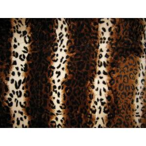 Vastag Leopárdpöttyös takaró/pléd 150cm x200cm