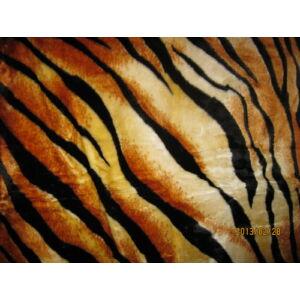 Vastag Tigriscsíkos takaró/mintájú pléd 150cm x 200cm