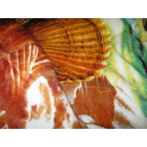 Wellsoft  takaró/pléd bézs színben 150cm x 200cm