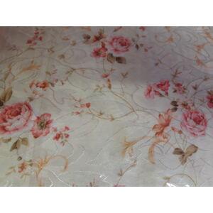 terítő virág mintával 140cmx160cm