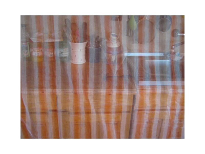 függöny rozsda-barna mintával 300cmx260cm