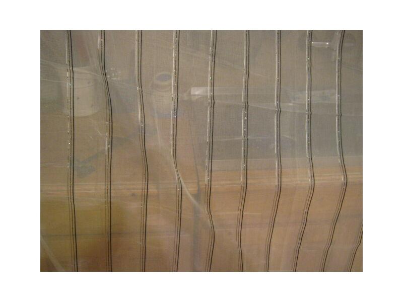 függöny fekete-ezüst csíkos300x280cm