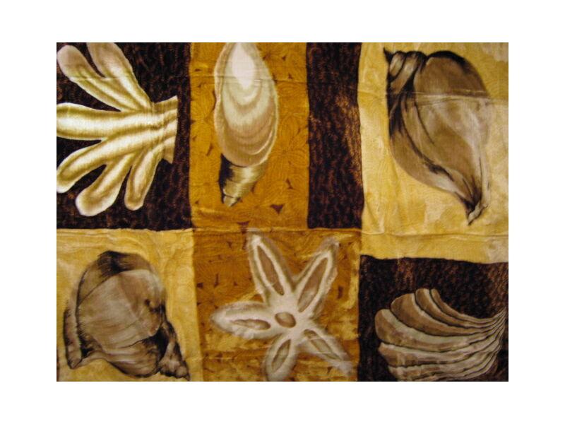 Vastag takaró/pléd kagylós mintával 150cmx200cm