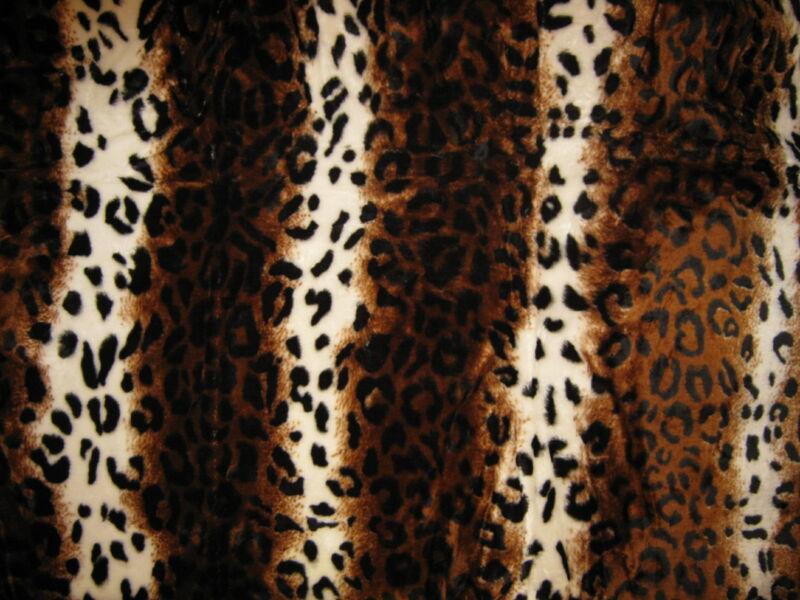 Vastag Leopárdpöttyös takaró/pléd 230cm x180cm