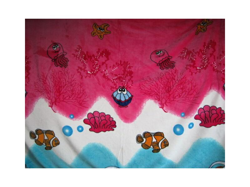 Wellsoft  takaró/pléd gyerek mintával 150cm x 100cm