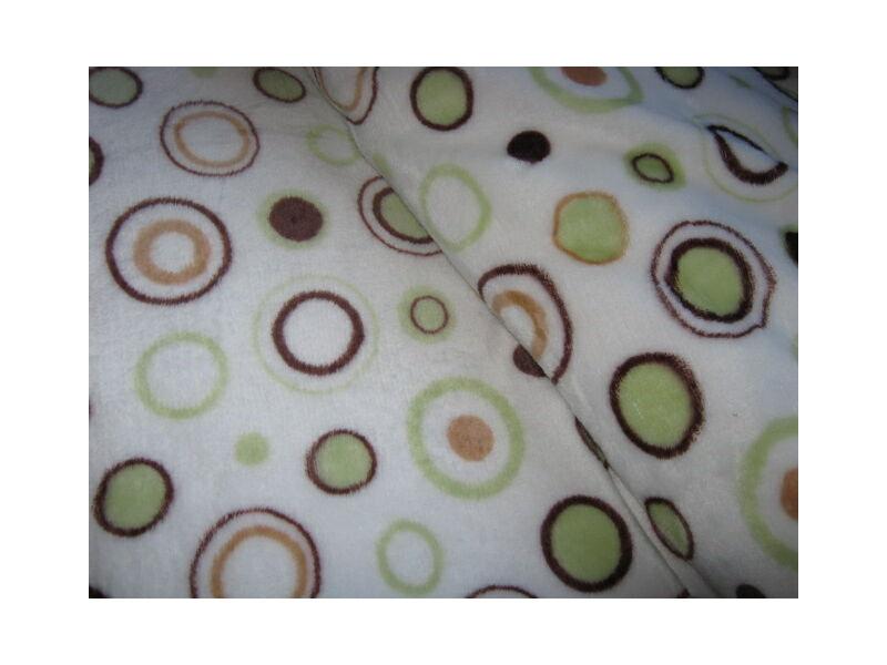 Wellsoft  takaró/pléd bélelt, vastag, bézs színben 200cm x 230cm